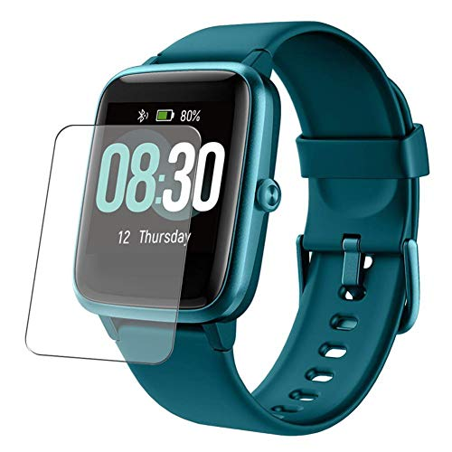Vaxson Protector de Pantalla, compatible con UMIDIGI Uwatch 3 1.3' Uwatch3 Smart Watch, 3 Unidades TPU Film Screen Protector [ No Vidrio Templado ]