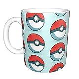 Pokemon Go Pokeball divertente tazza da caffè Lesbiche Eat What Novità divertente Gag regalo per uomini donne marito moglie Co lavoratore