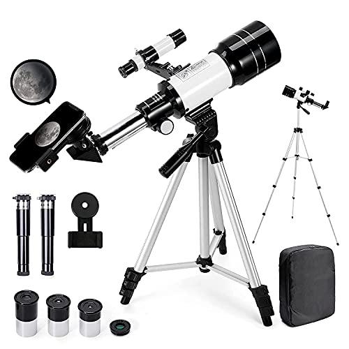 Telescopio Astronomico 150X HD serie 300/70 mm di Ingrandimento...