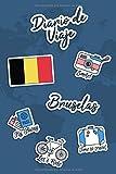 Diario de Viaje Bruselas: Diario de Viaje | 106 páginas, 15.24 cm x 22.86 cm | Para acompañarle durante su estancia.