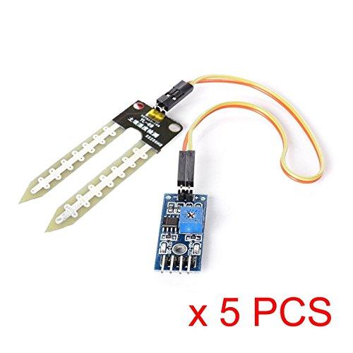 IZOKEE 2 Pcs Module RF Bluetooth sans Fil HC-05 avec Puce dorigine Module de D/émetteur R/écepteur RS232 Port S/érie TTL /à 6 Broches pour Arduino