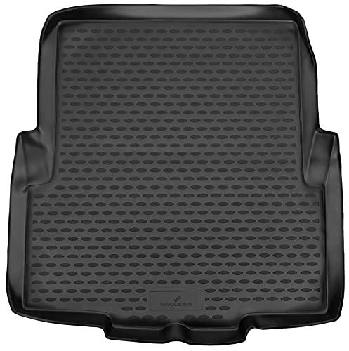 Walser Cubeta de maletero a medida XTR compatible con BMW 3 notchback (E46) año 12/1997-05/2005, alfombra maletero, bandeja maletero