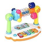 Juguete musical, sonido de animales, piano para niños, juguete musical, animales musicales, teclado con sonido, piano, tipo de juego para niños, instrumentos musicales