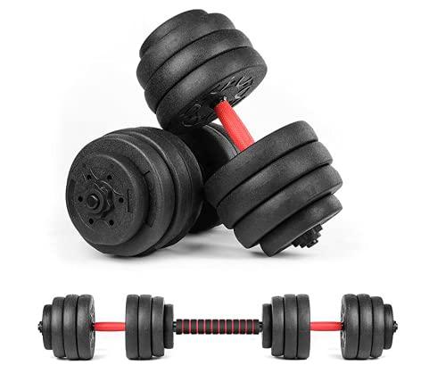 AYNEFY Juego de mancuernas ajustables de 40 kg, para el hogar, fitness, ejercicio, con 16 pesos de 1 kg, 2,5 kg, 3 kg, antideslizantes, para entrenamiento de fuerza para mujeres y hombres