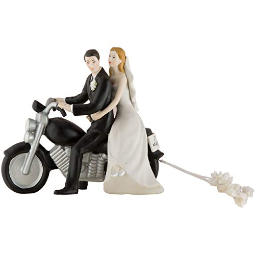 Weddingstar Motorradfigur Get-Away Hochzeitspaar