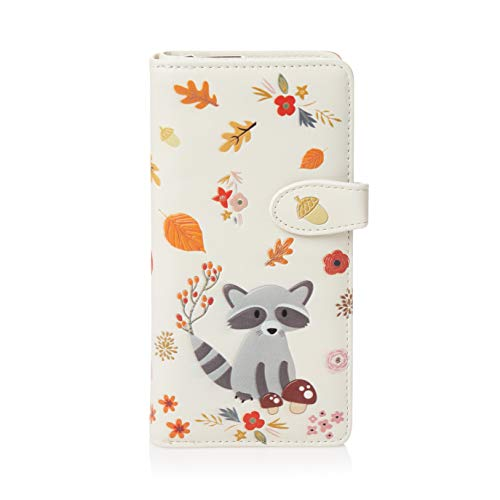 Shagwear portafoglio per giovani donne, Large Purse : (Procione/Raccoon)