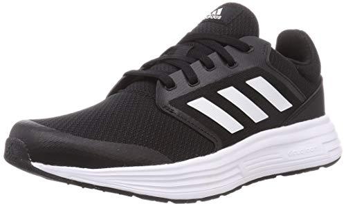 adidas Galaxy 5, Road Running Shoe Homme, Core Black/Footwear White/Footwear White, 39 1/3 EU
