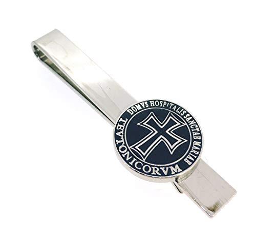 Gemelolandia Pasador de corbata de la Federación de los Caballeros Españoles (Fundación). Spanischherrenbund. Pasador de corbata de la Cruz de la Orden Teutónica