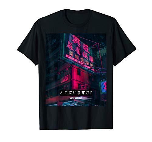 Aesthetic Style Vaporwave Japan 80er 90er Meme Tokio Kyoto T-Shirt