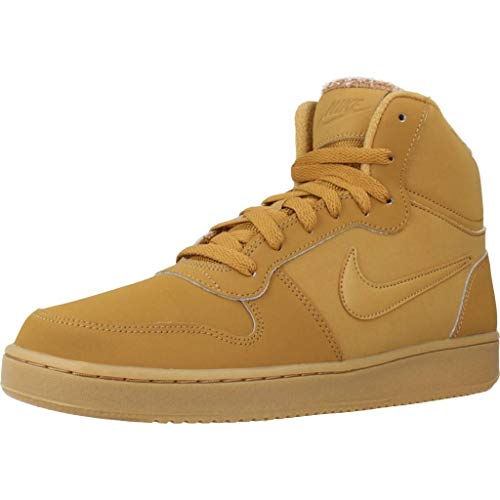Nike EBERNON Mid Bottines Boots Homme Brun Clair 45 EU