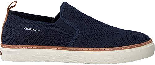 GANT Footwear Herren BARI Slip On Sneaker, Blau (Marine G69), 43 EU