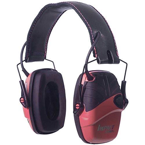 Howard Leight Impact Sport Pink Electronic Earmuff