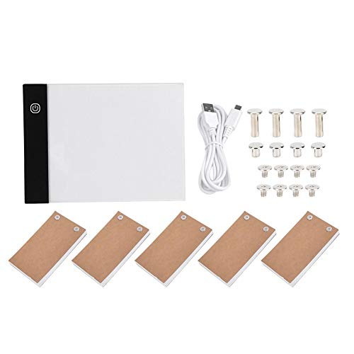 270 Sheets Animation Paper with Removable Screws /& LED Light Box flip Book kit