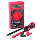 7 Function Digital Multimeter for Precise Electronic Measurements Tests Digital Amp OHM Volt Meter ACDC Voltmeter