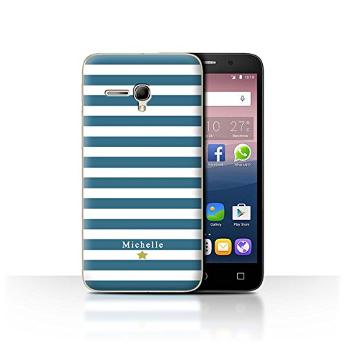 Stuff4Phone Case/Cover/Skin/alcpop355/Custom Stripes/Striped Collection Coeur Rayure Cerise
