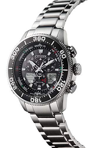 [シチズン]腕時計プロマスターエコ・ドライブマリンシリーズヨットタイマーJR4060-88Eメンズシルバー