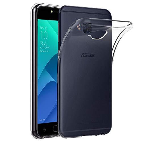 ebestStar - kompatibel mit Asus Zenfone 4 Selfie Pro Hülle ZD552KL Handyhülle [Ultra Dünn], Premium Durchsichtige Klar TPU Schutzhülle, Soft Flex Silikon, Transparent [Phone: 154x74.8x6.9mm, 5.5'']