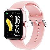 Smartwatch, KUNGIX Orologio Fitness Tracker collegato con GPS, IP68 Activity Tracker Impermeabile...