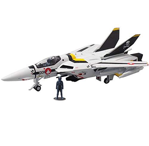 CMO Aeromodelismo, F14 Fighter VF-1S Valkyrie Robotech Modelo De Aleación Escala 1/72, Juguetes y Regalos, 10,4 X 10,6 Pulgadas