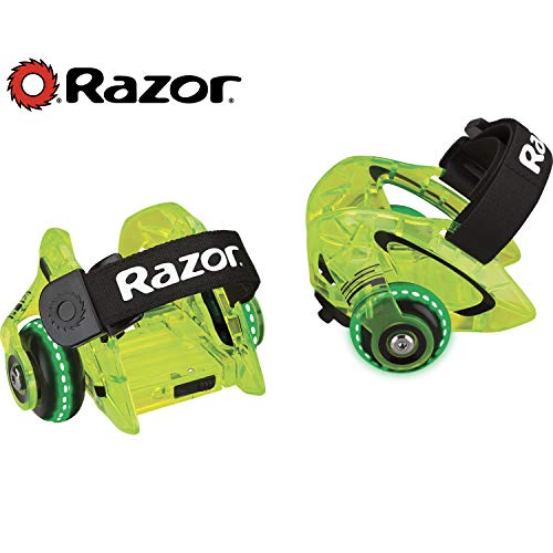 Razor Jetts DLX Heel Wheels - Neon Green - FFP - 25056136
