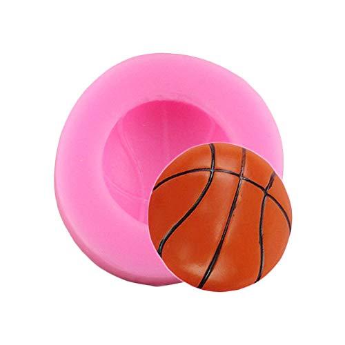 UNIYA 3D fútbol béisbol Baloncesto moldes de Silicona DIY Fondant Herramientas de decoración de Pasteles Resina ArcillaCarameloMolde deChocolate