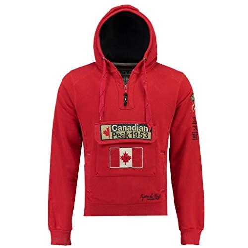 Canadian Peak Sudadera DE Hombre Galapagos Rojo S
