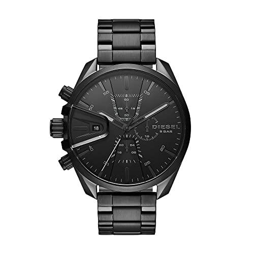 Diesel Reloj Analógico para Hombre de Cuarzo con Correa en Acero Inoxidable DZ4537