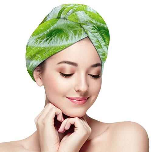 Asciugamani macro per piante rampicanti Viticcio Assorbente e capelli morbidi Cappellino asciutto per ragazze da donna