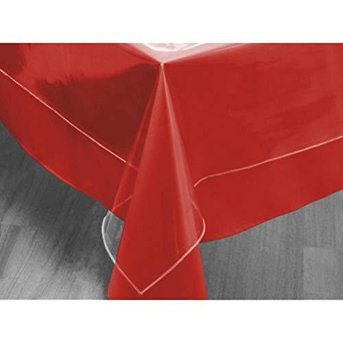 Soleil d'ocre 853600 Tovaglia Quadrata Trasparente 180 x 180 cm Cristal