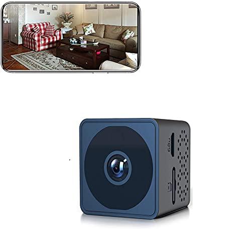 sZeao Mini Camara Oculta Espia Cámara 1080P HD Cámara Niñera Pequeña Visión Nocturna con Tarjeta SD de 32G,y Detección de Movimiento Vigilancia Grabadora Secreta Micro para Familia,Oficina