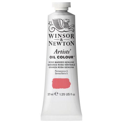 Winsor & Newton Artists' Oil Color Paint, 37-ml Tube, Rose Madder Genuine