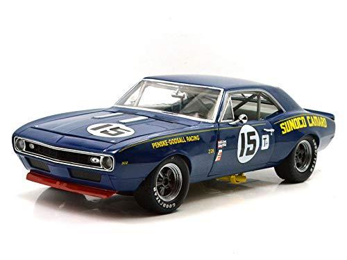 GMP 1/18 1967 Trans Am Camaro Z/28 - #15 Mark Donohue - Sunoco Penske Racing GMP-18833