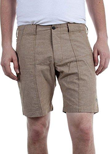 Woolrich - Pantalones cortos de los hombres de la achicoria, 30, Khaki