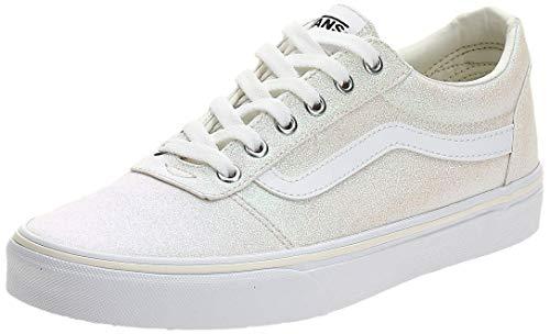 Vans Damen Ward Canvas Sneaker, Elfenbein ((Glitter Rainbow) White Xy2), 39 EU