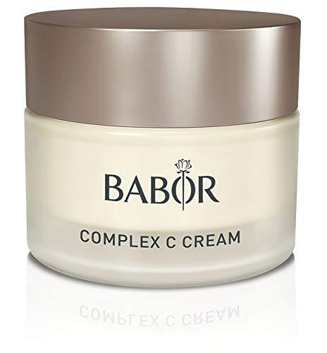 BABOR CLASSICS Complex C Cream, reichhaltige, hautstärkende 24h Vitaminpflege, für jede müde und entkräftete Haut, 50 ml