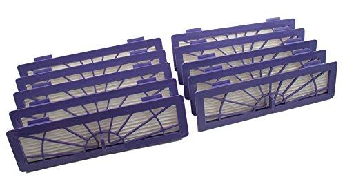 10 Filtres HEPA pour Neato BotVac de Hannets®