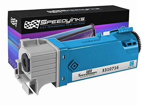 Speedy Inks Compatible Toner Cartridge Replacement for Dell 2150 |THKJ8 (331-0716) High-Yield (Cyan)