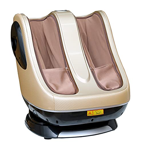 RoboTouch Pedilax Leg, Foot and Calf Massager for Pain Relief and Relaxation, Gold