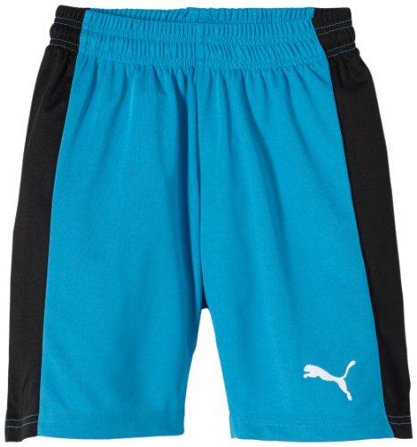 PUMA Kinder Hose PowerCat 5.12 Shorts with Inner Slip, Vivid Blue-Black, 140