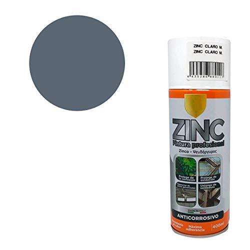 Pintura Spray Zinc 98% 400 Ml