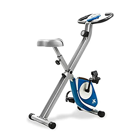 Fitness Equipment Shopping XTERRA Fitness FB150 Folding Exercise Bike, Silver, 31.5L x 18W x 45.3H in.