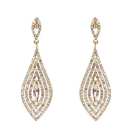 Elegant Dangle Earrings Tassel Earrings Ears Decoration For Ladies, No.1