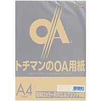 SAKAEテクニカルペーパー コピー用紙 A4 50枚 極厚口 PPCペーパー ライトブラウン LPP-A4-LB