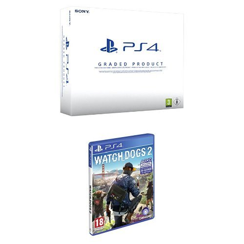 PlayStation 4 500 Gb A Chassis (Ricondizionato Certificato) + Watch_Dogs 2