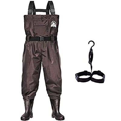 UPGRADE Fishing Chest Waders for Men and Women with Boots
