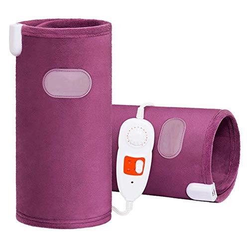 LIBINA - Bandas de calor Rodilleras eléctricas, Masajeador de Cintura para la Espalda del Brazo de la Rodilla, Estimulador electrónico del músculo para Mantener la Rodilla Caliente
