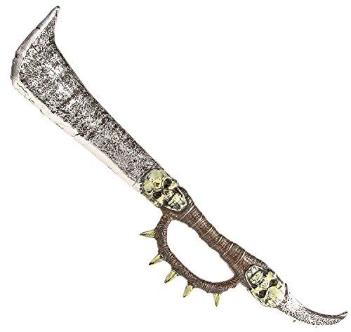 Nick and Ben Riesen Totenkopf Schwert Ork-Krieger Wikinger Kampfschwert Mystischer Dolch Erwachsenen Kostüm
