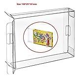 CHILDMORY 10pcs claro caja de la caja de manga CIB protector para NES juegos cartucho de caja