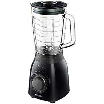 Philips HR2173/90 Batidora de vaso, 600 W, 2 l, 2 litros, Plástico ...