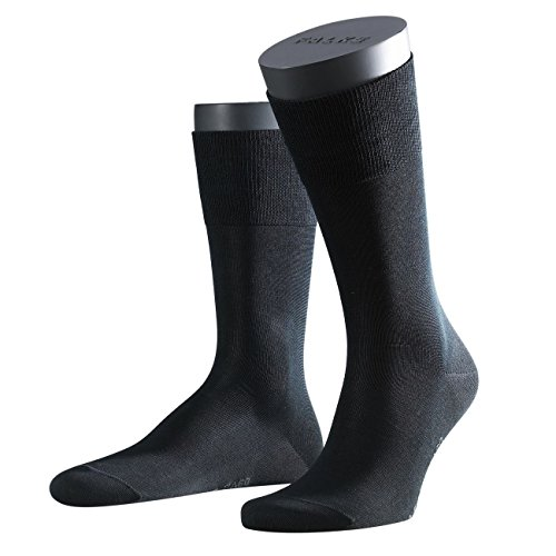Falke City Herren Socken Tiago 2er Pack, 58904-black-3000, 45/46